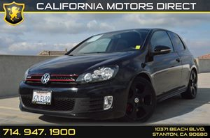 2013 Volkswagen GTI PZEV Carfax 1-Owner - No Accidents  Damage Reported to CARFAX Air Conditioni