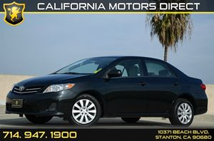 2013 Toyota Corolla LE Carfax 1-Owner - No Accidents  Damage Reported to CARFAX Air Conditioning