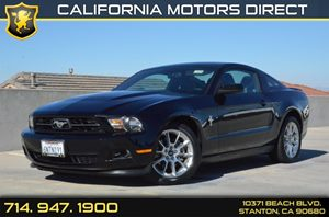 2011 Ford Mustang V6 Premium Carfax 1-Owner - No Accidents  Damage Reported to CARFAX Air Condit