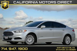 2014 Ford Fusion SE Hybrid Carfax 1-Owner - No Accidents  Damage Reported to CARFAX Air Conditio