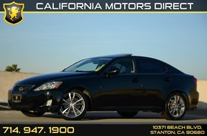 2008 Lexus IS 250  Carfax Report - No Accidents  Damage Reported to CARFAX Air Conditioning  A