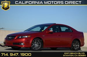 2007 Acura TL Type-S Carfax 1-Owner Air Conditioning  AC Audio  AmFm Stereo Audio  Usb Mp3