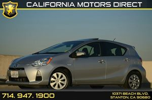 2012 Toyota Prius c One Carfax 1-Owner - No Accidents  Damage Reported to CARFAX Air Conditionin