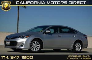 2014 Toyota Avalon XLE Carfax 1-Owner - No Accidents  Damage Reported to CARFAX Air Conditioning