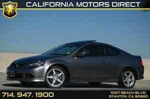 2006 Acura RSX Type-S Carfax Report Air Conditioning  AC Audio  AmFm Stereo Audio  Premium