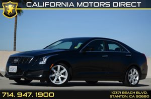 2013 Cadillac ATS  Carfax Report - No Accidents  Damage Reported to CARFAX Air Conditioning  A