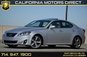 2012 Lexus IS 350  Carfax 1-Owner Air Conditioning  AC Audio  Auxiliary Audio Input Audio