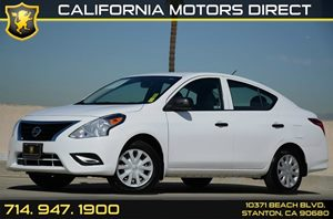 2015 Nissan Versa S Carfax Report - No Accidents  Damage Reported to CARFAX Air Conditioning  A