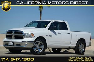 2015 Ram 1500 Big Horn Carfax 1-Owner - No Accidents  Damage Reported to CARFAX Air Conditioning