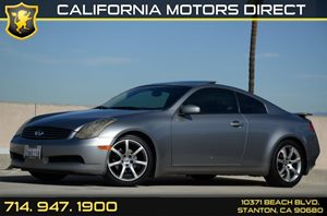 2004 Infiniti G35 Coupe  Carfax Report - No Accidents  Damage Reported to CARFAX Air Conditionin