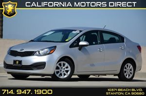 2014 Kia Rio LX Carfax 1-Owner Air Conditioning  AC Audio  Auxiliary Audio Input Audio  Usb