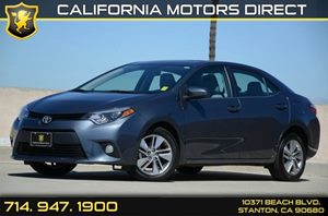 2014 Toyota Corolla LE ECO Plus Carfax 1-Owner - No Accidents  Damage Reported to CARFAX Air Con