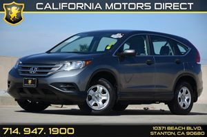 2013 Honda CR-V AWD LX Carfax 1-Owner Air Conditioning  AC Audio  Auxiliary Audio Input Audi
