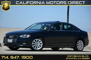 2013 Audi A4 Premium Carfax 1-Owner Air Conditioning  AC Audio  Auxiliary Audio Input Audio