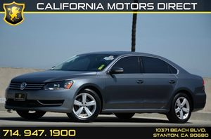 2013 Volkswagen Passat SE Carfax 1-Owner Air Conditioning  AC Audio  Auxiliary Audio Input A