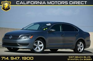 2014 Volkswagen Passat SE Carfax 1-Owner 5 Cylinders Air Conditioning  AC Audio  Auxiliary A