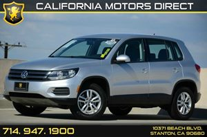 2012 Volkswagen Tiguan S Carfax 1-Owner Air Conditioning  AC Audio  Auxiliary Audio Input Au