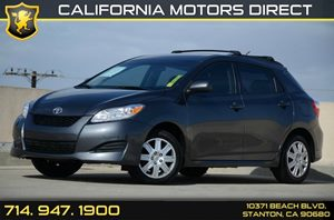 2013 Toyota Matrix L Carfax Report Air Conditioning  AC Audio  Auxiliary Audio Input Audio