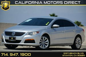 2011 Volkswagen CC Sport Carfax Report - No Accidents  Damage Reported to CARFAX Air Conditionin