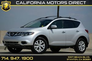 2014 Nissan Murano SV Carfax 1-Owner Air Conditioning  AC Audio  Auxiliary Audio Input Audio
