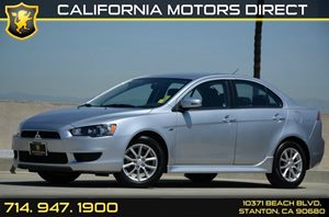 2015 Mitsubishi Lancer ES Carfax 1-Owner - No Accidents  Damage Reported to CARFAX Air Condition