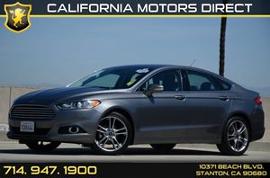 2014 Ford Fusion Titanium Carfax 1-Owner Air Conditioning  AC Audio  Premium Sound System Au