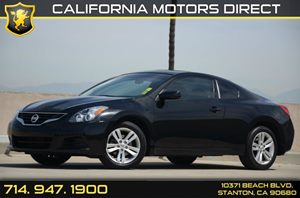 2013 Nissan Altima 25 S Carfax 1-Owner Air Conditioning  AC Audio  Auxiliary Audio Input Co