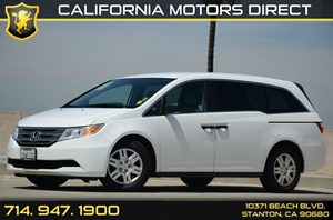 2013 Honda Odyssey LX Carfax 1-Owner - No Accidents  Damage Reported to CARFAX Air Conditioning