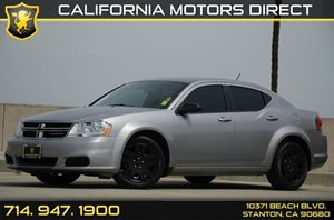 2014 Dodge Avenger SE Carfax Report Air Conditioning  AC Audio  Auxiliary Audio Input Audio