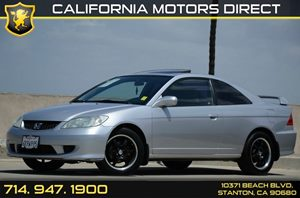 2004 Honda Civic EX Carfax Report - No Accidents  Damage Reported to CARFAX Air Conditioning  A