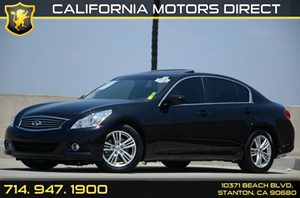 2013 Infiniti G37 Journey Carfax 1-Owner - No Accidents  Damage Reported to CARFAX Air Condition
