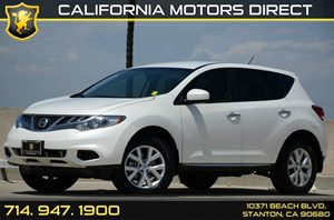 2013 Nissan Murano S Carfax 1-Owner 18 Aluminum Alloy Wheels 6 Cylinders Air Conditioning  A