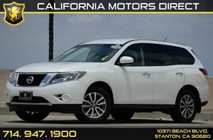 2013 Nissan Pathfinder S Carfax 1-Owner Air Conditioning  AC Audio  Auxiliary Audio Input Au