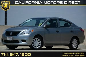 2014 Nissan Versa S Carfax 1-Owner Air Conditioning  AC Audio  Auxiliary Audio Input Conveni