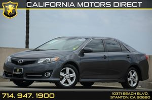 2013 Toyota Camry SE Carfax 1-Owner - No Accidents  Damage Reported to CARFAX Air Conditioning