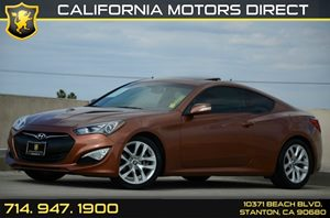 2013 Hyundai Genesis Coupe 38 Grand Touring Carfax 1-Owner Air Conditioning  AC Audio  Auxil