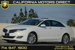 2013 Lincoln MKZ  Carfax Report Air Conditioning  AC Audio  Auxiliary Audio Input Audio  Pr
