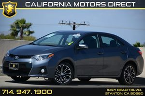 2014 Toyota Corolla S Plus Carfax 1-Owner - No Accidents  Damage Reported to CARFAX Air Conditio