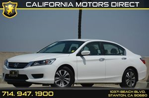 2013 Honda Accord Sedan LX Carfax 1-Owner 16 Alloy Wheels Air Conditioning  AC Audio  AmF