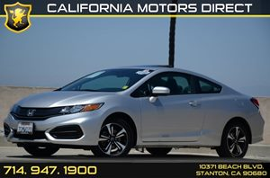 2014 Honda Civic EX Carfax 1-Owner - No Accidents  Damage Reported to CARFAX Air Conditioning