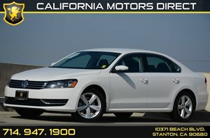 2015 Volkswagen Passat SE Carfax 1-Owner Air Conditioning  AC Audio  Auxiliary Audio Input A