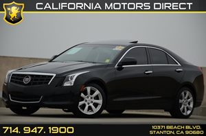 2013 Cadillac ATS 20T Carfax 1-Owner - No Accidents  Damage Reported to CARFAX Sunroof Power