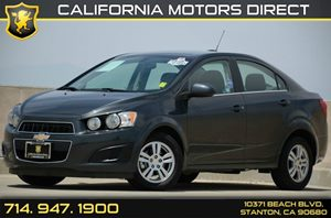 2015 Chevrolet Sonic LT Carfax 1-Owner - No Accidents  Damage Reported to CARFAX Air Conditionin