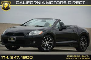 2010 Mitsubishi Eclipse GT Carfax 1-Owner - No Accidents  Damage Reported to CARFAX Air Conditio