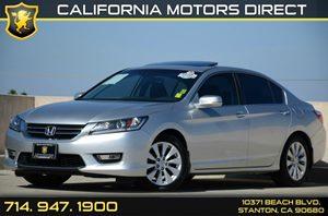 2013 Honda Accord Sedan EX-L Carfax 1-Owner Air Conditioning  AC Audio  Auxiliary Audio Input