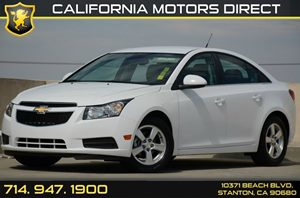 2014 Chevrolet Cruze LT Carfax 1-Owner Air Conditioning  AC Audio  Usb Mp3 Player Convenienc