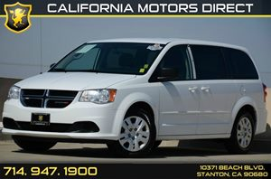 2014 Dodge Grand Caravan SE Carfax 1-Owner Air Conditioning  AC Audio   Mp3 Player Audio  A