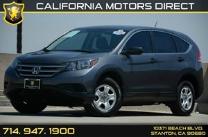 2013 Honda CR-V LX Carfax 1-Owner Air Conditioning  AC Audio  Auxiliary Audio Input Audio