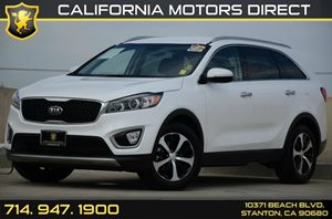 2016 Kia Sorento EX Carfax 1-Owner - No Accidents  Damage Reported to CARFAX Air Conditioning