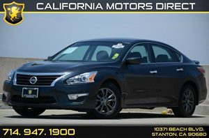 2015 Nissan Altima 25 S Carfax 1-Owner Air Conditioning  AC Audio  Auxiliary Audio Input Au